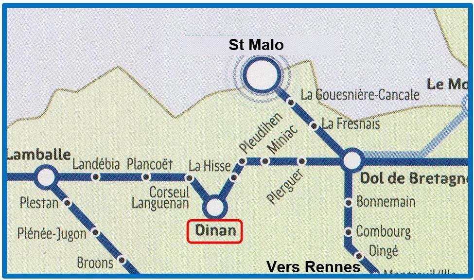 Carte du réseau AFBN